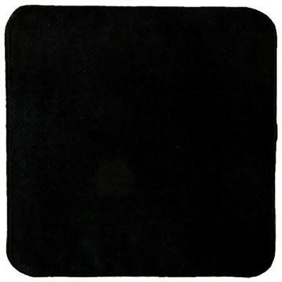 日本製シャーリング黒ミニタオル